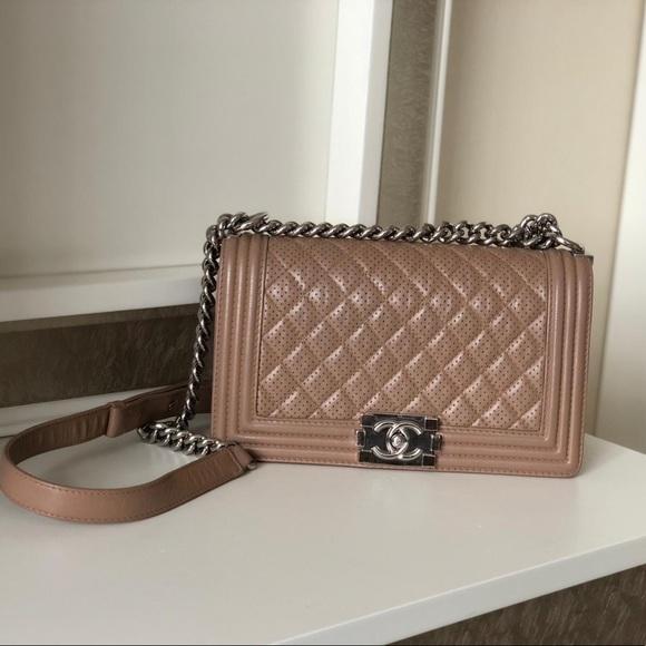 CHANEL Handbags - Chanel Medium Le Boy Bag